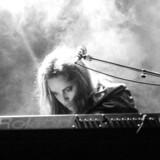 Anne Linnet og bandet Marquis de Sade i Alexandra Rock Teater 15. december 1983.