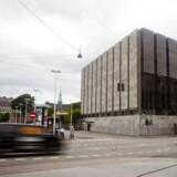 Danmarks Nationalbank på Havnegade i København.