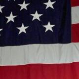 Arkivfoto: Det amerikanske flag.