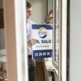 Lejlighedspriserne i København fortsætter op, selvom det ikke længere er tocifrede stigninger.