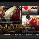 TV 2 Play giver - mod betaling - adgang fra enhver netforbindelse til at se TV 2s programmer, enten direkte eller fra arkivet.