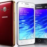 Z1 er Samsungs første Tizen-telefon, og den er nu på markedet i Indien. Styresystemet vil ligge i alle nye Samsung-fjernsyn. Foto: Samsung