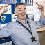 Pressebriefing med Ryanairs direktør, Michael O'Leary på Radisson i København