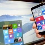 Microsoft Danmark skal betale penge til Copydan for at sælge tomme hukommelseskort i mobiltelefoner. Det har Østre Landsret afgjort onsdag formiddag.EPA/PETER STEFFEN