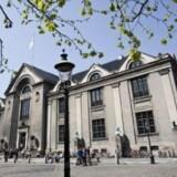 Københavns Universitet (på billedet) er markant dårligere til at få de studerende igennem på normeret tid sammenlignet med Aalborg Universitet. Arkivfoto Free/Københavns Universitet