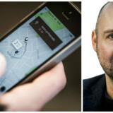 Uber og Jonathan Løw.