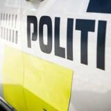 En mand og en kvinde overraskede en tyv nær Varde. Trods trussel med økse nægtede de at udlevere bilnøgler.