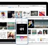 Apples musikstreamingtjeneste, Apple Music, er gratis i tre måneder. Var man med fra begyndelsen i juni, udløber prøveperioden nu, og så skal man betale - hvilket sker automatisk, medmindre man slår det fra. Foto: Apple