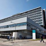 Til Arkiv: Aalborg Universitetshospital, Region Nordjylland. Nyt skilt da der er skiftet navn fra Aalborg Sygehus Syd & Nord til det nye navn: Aalborg Universitetshospital