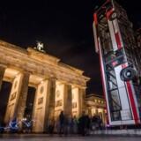 Arkivfoto: Brandenburger Tor i Berlin.