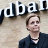 Karen Frøsig - Sydbank - Her fotograferet i bankens hovedsæde i Åbenrå - Aabenraa