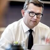 (ARKIV) Beskæftigelsesminister Troels Lund Poulsen (V) i samråd om nedsættelsen af en seniortænketank for et godt seniorarbejdsliv, torsdag den 14. september 2017. Danske nederlag på EU-møde er en udfordring for den danske model på arbejdsmarkedet, siger forsker. Men det er prisen for fri bevægelighed i EU, lyder det. Det skriver Ritzau, onsdag den 20. juni 2018 (Foto: Mads Claus Rasmussen/Ritzau Scanpix)