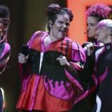 Israelske Netta, der synger sangen »Toy«, er en af favoritterne ved Melodi Grand Prix.