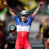 Franskmanden Arnaud Demare vinder 4. etape i cykelløbet Tour de France.