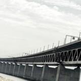 Øresundsbroen er lukket på grund af stormen Urd