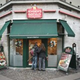 Restaurant hvor et et knivstikkerri fandt sted.