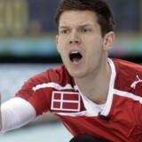 Skipper Rasmus Stjerne ønsker at undgå et unødigt medaljepres ved at komme med få store ambitioner ved vinter-OL. Reuters/Ints Kalnins