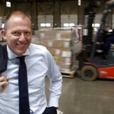 Jens Bjørn Andersen, topchef for transportgiganten DSV, er særdeles tilfreds med regnskabet.
