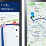 Nokias korttjeneste Here, tidligere kaldet Nokia Maps, er sat til salg, og flere tyske bilproducenter er interesseret. Foto: Nokia