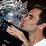I fire år vandt Roger Federer ingen grand slam-turneringer, men 2017 og starten på 2018 har været forrygende.