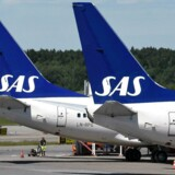 Flyselskabet SAS nægter at give sig i en strid om en gruppe passagerers krav på erstatning. (Foto: JOHAN NILSSON/Scanpix 2015)