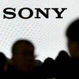 Sonys logo set i Japan.
