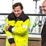Ejer af Nordic Choice Hotels, Petter A. Stordalen, og dm. direktør i Københavns Lufthavnne, Thomas Woldbye, i forbindelse med præsentationen af nyt hotel-bygger i lufthavnen.