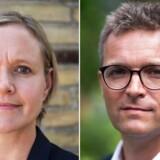 Det er Frank Jensen og ikke os, der trækker stikket til byggeplanerne på den gamle strandeng, fastslår Venstres spidskandidat Cecilia Lonning-Skovgaard og de Konservatives spidskandidat Jakob Næsager.