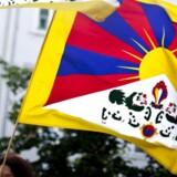 ARKIVFOTO. Demonstration mod Kinas menneskerettighedsovertrædelser over for Tibet, Free Tibet, på Højbro Plads i København fredag d. 15. juni 2012 i forbindelse med den kinesiske præsident Hu Jintaos statsbesøg i Danmark.