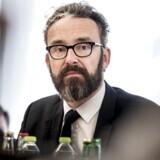 Transport-, bygnings- og boligminister Ole Birk Olesen den 19. september 2017. Arkivfoto.