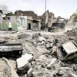 Selvmordsangreb i en lejr for irakere på flugt koster mindst 14 mennesker livet, siger kilder.