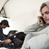 Vennerne Leidulf, Thurein og Daniel fra Norge var gæster på årets Roskilde Festival.