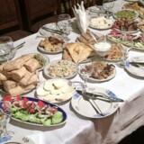 Det georgiske festmåltid, kaldet Supra.