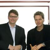 Skypestifterne Niklas Zennström og Janus Friis' investeringsselskab Atomico vil nu hjælpe iværksættere uden for Silicon Valley. Arkivfoto: Skype/Scanpix