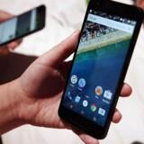 Androids markedsandel er på verdensplan på omkring 83 procent på smartphoneområdet og 66 procent på tavle-PC-området.