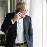 Lars Seier Christensen i hans faste suite på Hotel D' Angleterre