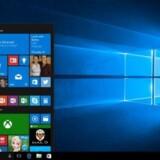 Windows 10 kom 29. juli og er gratis at opdatere til et år frem. Foto: Microsoft