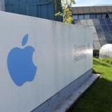Apple Operations International i Hollyhill i Cork i det sydlige Irland er Apples europæiske hovedsæde og undersøges nu af EU-konkurrencekommissær Margrethe Vestager for mulig skatteunddragelse. Arkivfoto: Michael MacSweeney, Reuters/Scanpix