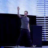 Facebook grundlægger Mark Zuckerberg.