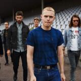 Det danske rockband The Minds Of 99 med Niels Brandt i front.
