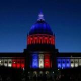 Rådhuset i San Francisco, USA.