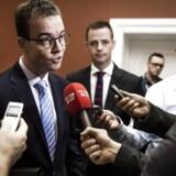 Arkivfoto: Uddannelses- og forskningsminister Esben lunde Larsen ankommer til gruppemøde i Venstre.