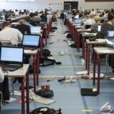 Arkivfoto: Ny analyse peger på stigende eksamensfrafald. Men skolelederforeningen har svært ved at genkende tallene.