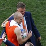 Kampanalytiker Mads Davidsen er vild med den måde Louis van Gaal (bagerst) har grebet VM i Brasilien an rent taktisk