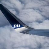 SAS gør klar til at lægge endnu en storordre og bruge milliarder på 40-50 nye fly. Her er det vingen på en af de maskiner, som SAS netop er ved at modtage 30 styks af: Airbus320Neo.