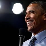 Ifølge en ny bog var det Michelle Obama, der overbeviste Barack Obama om, at »Yes we can« var et godt slogan.