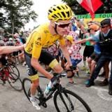 Ifølge Chris Froome var det ikke med vilje, da han søndag kørte ind i sin rival fra Astana, Fabio Aru.