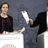 Undervisningsminister Ellen Trane Nørby (V) og statsminister Lars Løkke Rasmussen fremlagde regeringens udspil til en reform af gymnasierne onsdag i sidste uge.