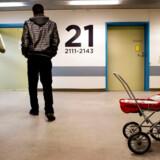 Flygtninge fra Eritrea fotograferet i det Midlertidige modtagecenter i det tomme Helsingør Hospital.