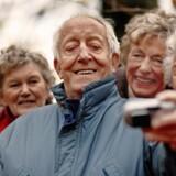 Hvis man skal rejse, skal der nogle gange en selfie til - også selv om man er pensionist.